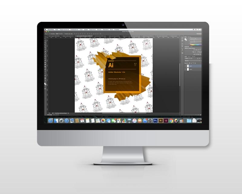 Design in Photoshop, Adobe Illustrator Indesign
