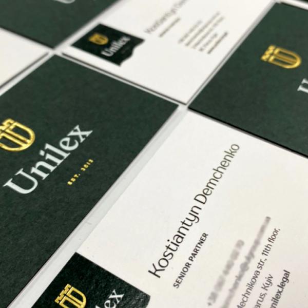 Визитки Unilex