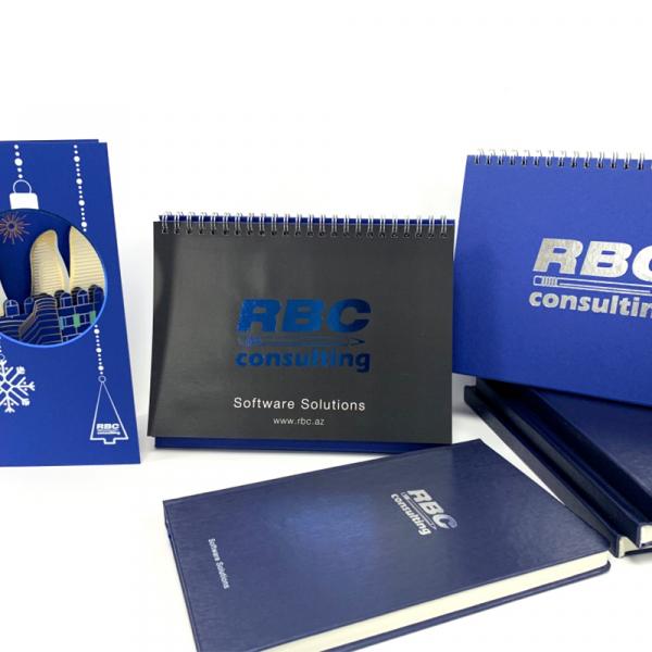 Бизнес полиграфия для RBC consulting